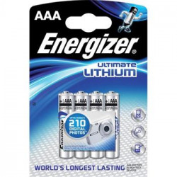 Baterie Energizer Ultimate Lithium AAA FR03 1,5V 4ks