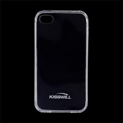 Kisswill TPU Case for iPhone 4/4S Transparent